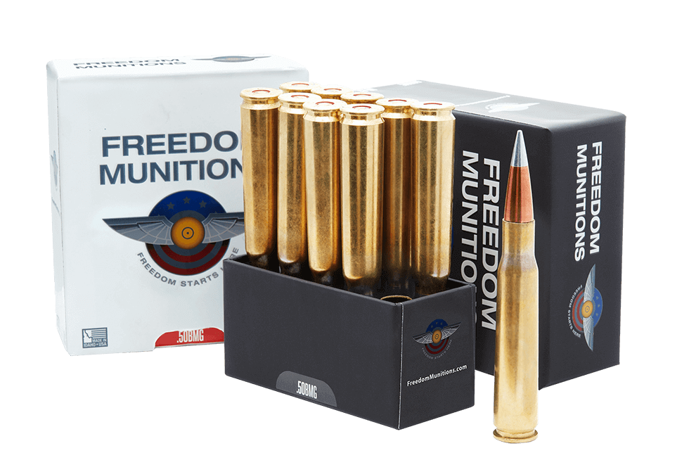 50 BMG Ammo - 50 Cal Ammo | Freedom Munitions