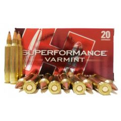 Hornady 204 RUGER 24 GR NTX 20 RDS