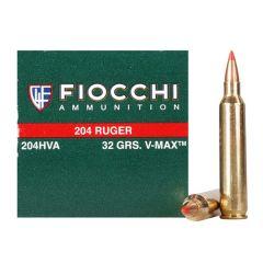 Fiocchi 204 Ruger 37gr V-MAX