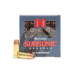 Hornady 9mm Luger 147 gr XTP Subsonic