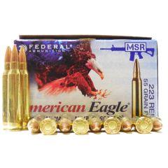 American Eagle 223 55gr FMJ 500Ct