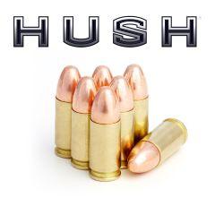 9mm Luger 165 gr RN Hush New