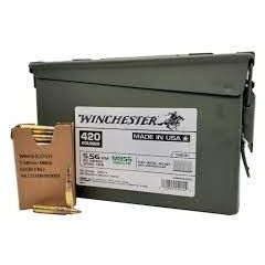 Winchester 556 NATO 62gr M855 420 RDs Can