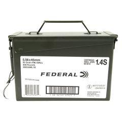 Federal 5.56 55 gr FMJ 400ct