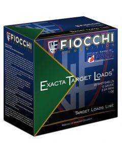 "Fiocchi Exacta Target Line Interceptor Spreader 12ga 2-3/4"" #8 Shot 1oz Lead 25/bx"