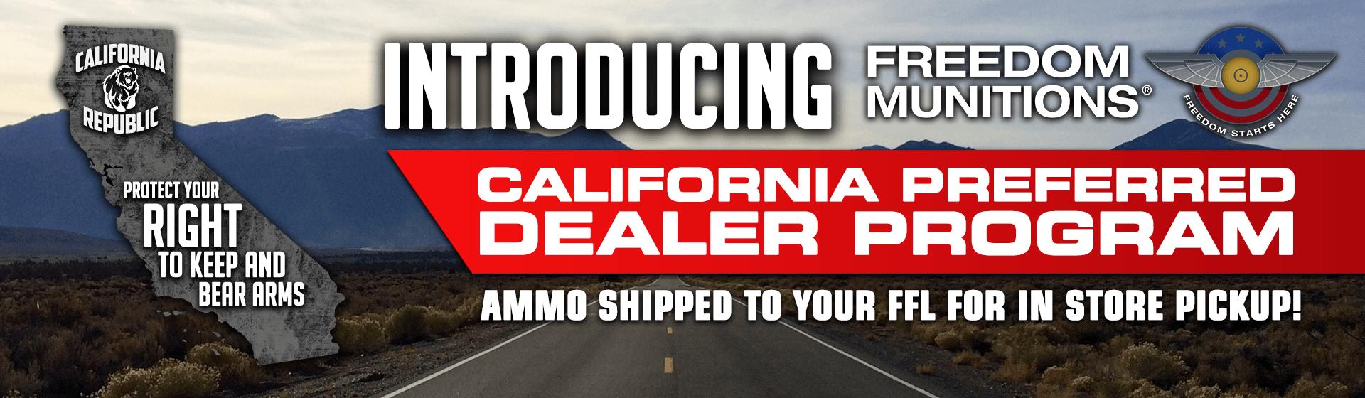 California Dealer Program